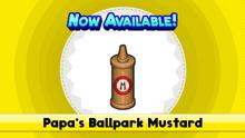 Papa's Ballpark Mustard (HTG)