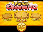 Papa's Cheeseria Play Button