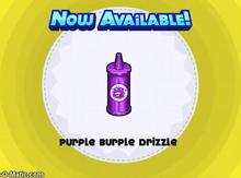 Papa's Cupcakeria - Purple Burple Drizzle