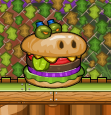 Short burger