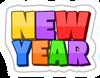 New Year updated logo