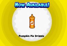 Pumpkin Pie Drizzle PHD