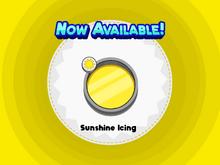 Sunshine Icing