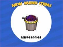 Raspberries Pancakeria