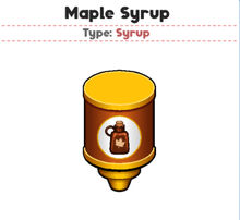 Maple Syrup (PTG)