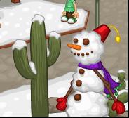 Cookie Snowman