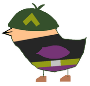 Sarge Fan Bird