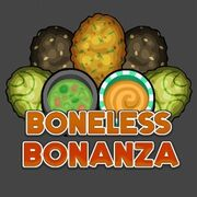 Papa's Wingeria To Go! Boneless Bonanza Logo