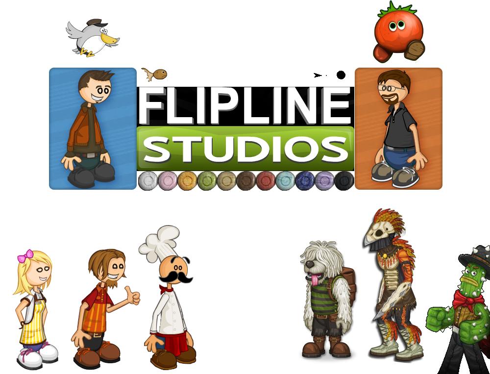Flipline-characters-complation