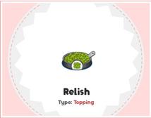 Relish (HHD)