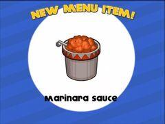 Unlocking marinara sauce
