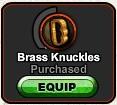 A1 Brass Knuckles