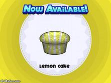 Papa's Cupcakeria - Lemon Cake