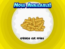 Unlocking crinkle cut fries