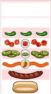 Spicy Sausage Order Ticket