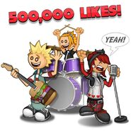 500,000 Likes!