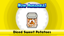 Diced Sweet Potatoes TMTG