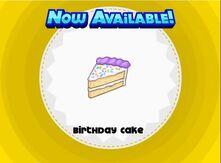 Unlocking birthday cake