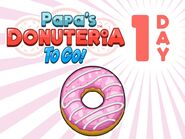 Papa's Donuteria To Go! - 1 Day