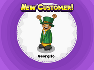 Papa's Bakeria - Unlocking Georgito in his St. Paddy's Day Outift