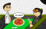 Akari's pasta didn't cook