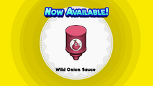 Wild Onion Sauce (Papa's Wingeria To Go!)