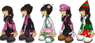 PLP Tohru Outfits