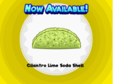 Cilantro Lime Soda Shell