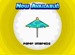 Papa's Cupcakeria - Paper Umbrella