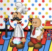 Papa Louie and Little Edoardo