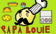Papa louie fanmade logo