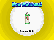 Eggnog Aioli