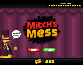 Mini Game - Mitch's Mess