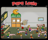 Papa Louie game End