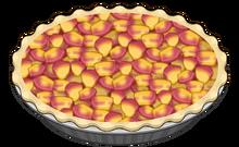 Peach filling