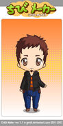 Tony as a chibi