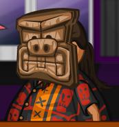 Kahuna as a tiki warrior 2