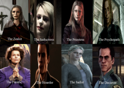 Silent Hill Antagonists Types