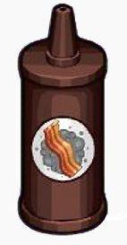 Smoky bacon sauce