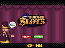 Sneakpeek burgerslots