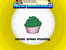 ForestGreenfrostingunlocked!