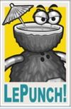 Luau LePunch Poster