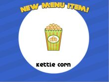 Kettle corn unlocked