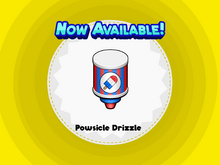 Powsicle Drizzle- DTG!