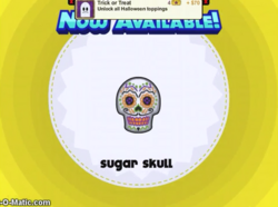 Papa's Cupcakeria - Sugar Skull