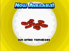 Unlocking sun dried tomatoes