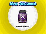 Purple Pesto