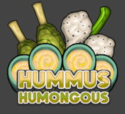 Hummus Humongous (Logo)