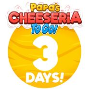 Cheeseria To Go - 3 Days Left