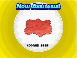 Unlocking corned beef
